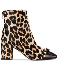 44419af847e9 kate spade new york Orton Cheetah-Print Booties   Reviews - Boots - Shoes -  Macy s