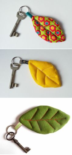 ▷ 1001 + ideas de qué regalar a una amiga por su cumpleaños Diy Keyring, Cute Keychain, Sewing Hacks, Sewing Crafts, Sewing Projects, Homemade Gifts For Friends, Diy Gifts, Handmade Gifts, Diy Fashion