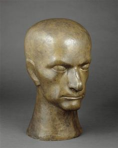 Raymond Duchamp-Villon, Baudelaire, c. 1911, National Museum of Modern Art - Georges Pompidou Center, Paris