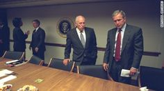 The National Archives on Friday released more than 350 never-before-seen photos of the Bush administration during the 9/11 attacks.