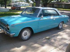 1965 Rambler American--my grandma had a 1969 Rambler.....no carpet, radio, or seat belts.