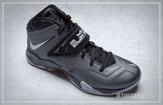 77587980c33 Nike Zoom Soldier VII Black Pure Platinum