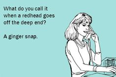 LMAO right notw!!!! redhead e cards | ... heard them. So let's laugh at some funny redhead cartoon Ecards