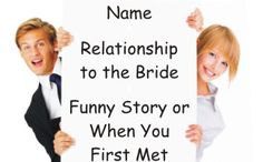 Bridal Shower Get To Know You Game, but can't use pronouns!