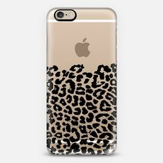 Wild Black Leopard Transparent iPhone 6 Case by Organic Saturation | Casetify. Get $10 off using code: 53ZPEA