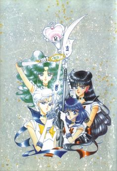 Naoko Takeuchi, Bishoujo Senshi Sailor Moon, Sailor Neptune, Setsuna Meioh, Sailor Pluto