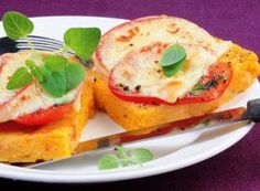 Tomaten-Polenta-Schnitten