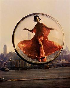 Simone d'Aillencourt, 1963  New York © Melvin Sokolsky