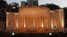Wedding decorations | Wedding themes | Stage Decoration Floral Design