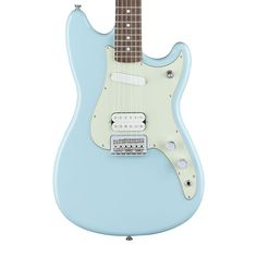 Fender Duo-Sonic HS Electric Guitar with Rosewood Fingerboard - Daphne Blue