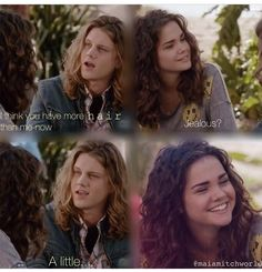 Repost it ....Callie & Wyatt's Funny Scene The Fosters
