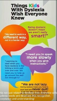 Really. Warning signs of dyslexia in adults not