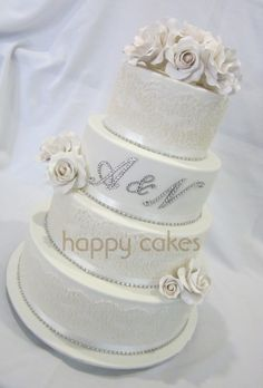 White Wedding - love all of this but the initials