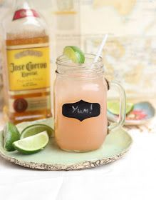 Cherry Limeade with Tequila drink recipe