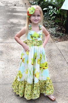Download Peony's Sweetheart Maxi Dress Sewing Pattern | Sewing Patterns | YouCanMakeThis.com
