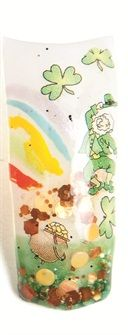 Cute Lucky Leprechaun with decals.