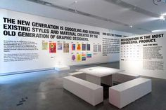 Graphic design, exhibition context, curatorial practices › Connecting the Past and the Future</br>Graphic Design Museum, Breda