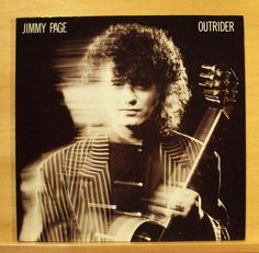 JIMMY PAGE - Outrider - Vinyl LP - Led Zeppelin Wasting my Time Hummingbird RARE