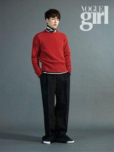 Boyfriend's Donghyun poses backstage for 'Vogue Girl' | allkpop.com