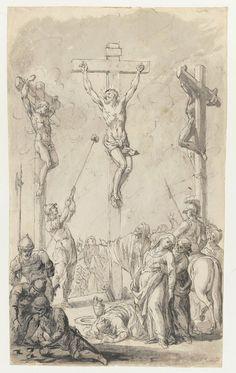 Crucifixion of Christ by Jan Bogumił Plersch, ca. 1770 (PD-art/old), Muzeum Narodowe w Warszawie (MNW)