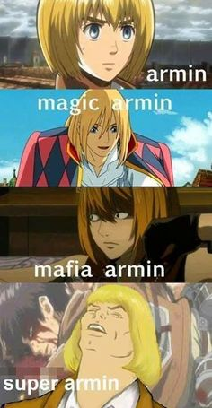Armin trough the times