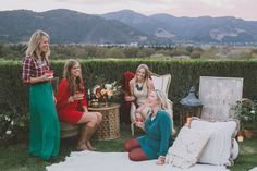 Photography: Anna Delores Photography - www.annadelores.com  Read More: http://www.stylemepretty.com/living/2014/12/12/holiday-cocktail-party-inspiration-a-31-bits-giveaway/
