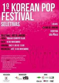 1º Korean Pop Festival – Seletiva Rio de Janeiro