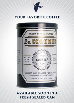 la colombe coffee in can