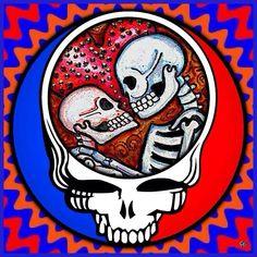 Skeleton Love Stealie