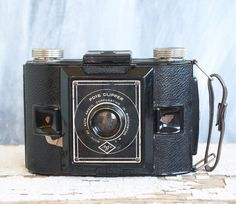 Vintage Agfa Camera, Agfa PD16 Clipper 1920s Made in USA