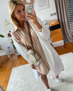 Karolina Franek (@karola_franek) • Instagram photos and videos Duster Coat, Spring Summer, Shirt Dress, Photo And Video, Casual, Jackets, Shirts, Videos, Dresses