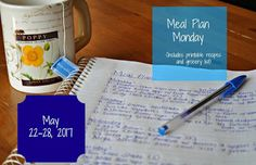 Darcie's Dishes: Meal Plan Monday: 5/22-5/28/17 ~ A one week meal plan complete with all meals, snacks and drinks. This meal plan is 100% Trim Healthy Mama compliant and is printable.