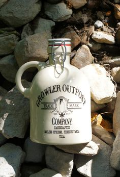 Get your growler with the GOC logo. It's a 5 inch fired on decal that will last the life of the growler! Handcrafted in Boiling Springs, PA our ceramic growlers