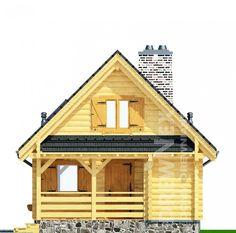 Jaskółka II - Domy drewniane letniskowe - DREWNEX Home Fashion, Cabin, House Styles, Home Decor, Decoration Home, Room Decor, Cabins, Cottage, Home Interior Design