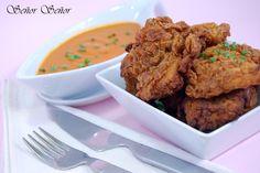 Pollo estilo Kentucky Fried Chicken. La receta de su rebozado. | Receta de Sergio