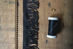 How to Make a Chic Fringed Necklace
