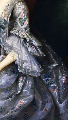 Sarah Harding, detail, by John Astley, 1730/1787, Museum of Fine Arts, Houston