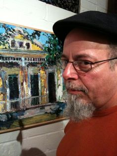 James Michalopoulos is a celebrated New Orleans based artist