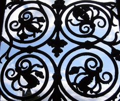 Wrought iron gate, Lincoln's Inn Reed Hastings, Door Detail, Iron Age, Architecture Details, Art Forms, Wrought Iron, Old World, Gates, Cast Iron