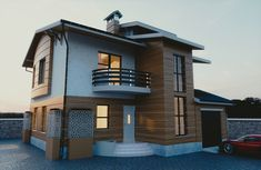 Related image Blender Architecture, Exterior, Mansions, House Styles, Image, Home Decor, Mansion Houses, Homemade Home Decor, Villas