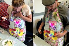 Get ready to love Fruit Fever invented by a team in Quebec Canada for *CriticalHit15, a summer incubator for experimental games. The team created an apron decorated with LED embellished patches to …