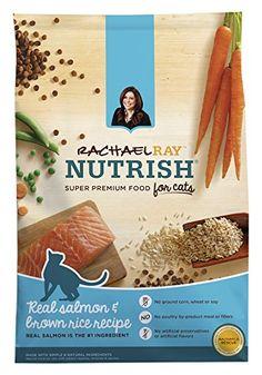 Rachael Ray Nutrish Natural Dry Cat Food, Salmon
