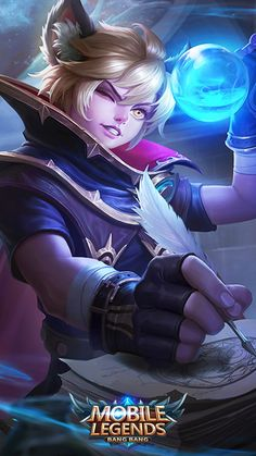 Get Easy Free Anime Wallpaper IPhone Harith Mobile Legends Ultra HD Mobile Wallpaper.