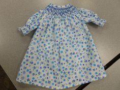Smocked Bishop doll dress by Ellen. Smocking, Cold Shoulder Dress, Dresses, Fashion, Vestidos, Moda, Fashion Styles, Dress, Dressers