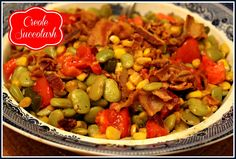 Sweet Tea and Cornbread: Creole Succotash!