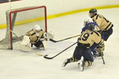 FRANKLIN - The host Bellingham High School hockey team put a festive bow on its own holiday tournament Tuesday night at the Franklin rink, defeating Attleboro High 7-2 to claim its tourney title.