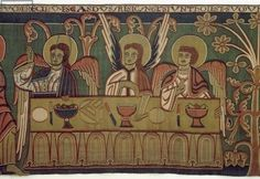 The Three Angels, from the Story of Abraham (tapestry)