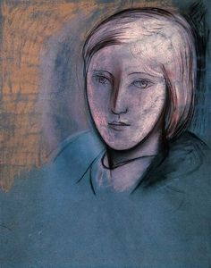Pablo Picasso , Portrait of Marie-Therese Walter. 1936
