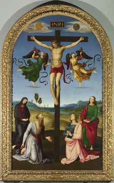The National Gallery, London -   Raphael - The Mond Crucifixion