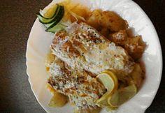 Citromborsos-tejszínes halfilé French Toast, Chicken, Breakfast, Food, Morning Coffee, Essen, Meals, Yemek, Eten
